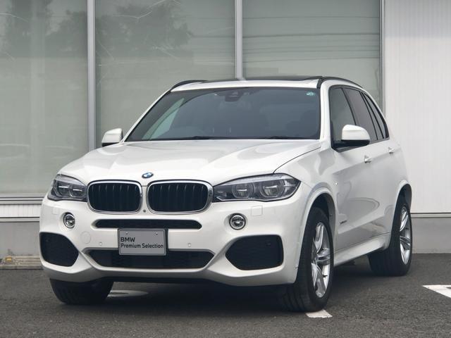 BMW X5 xDrive 35d Mスポーツ モカレザー セレクトパッケージ LEDヘッドライト ワンオーナー 1年間走行無制限保証