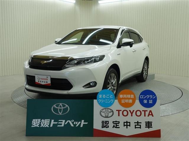 トヨタ ハリアーハイブリッド プレミアム 4WD クルーズコントロール スマートキ- CD