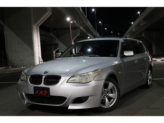 BMW 525iツーリング Mスポーツバンパー