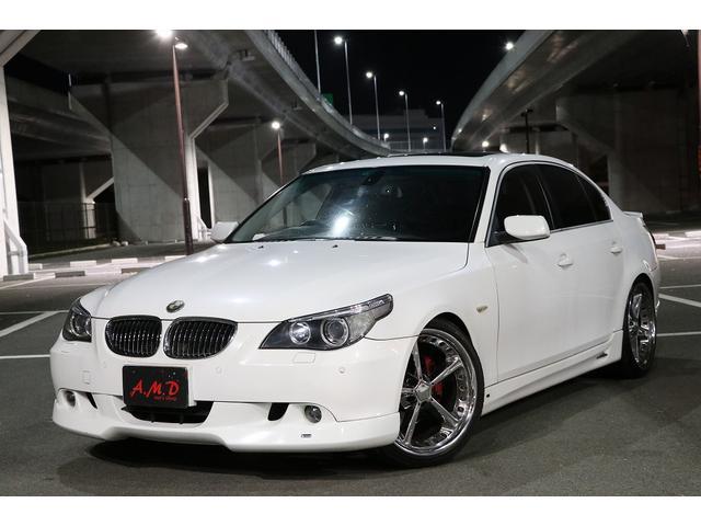 BMW 530i 革 サンルーフ ACシュニッツアー エアロ