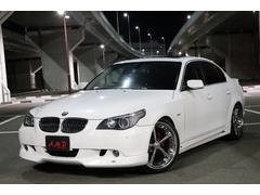 BMW530i 革 サンルーフ ACシュニッツアー エアロ