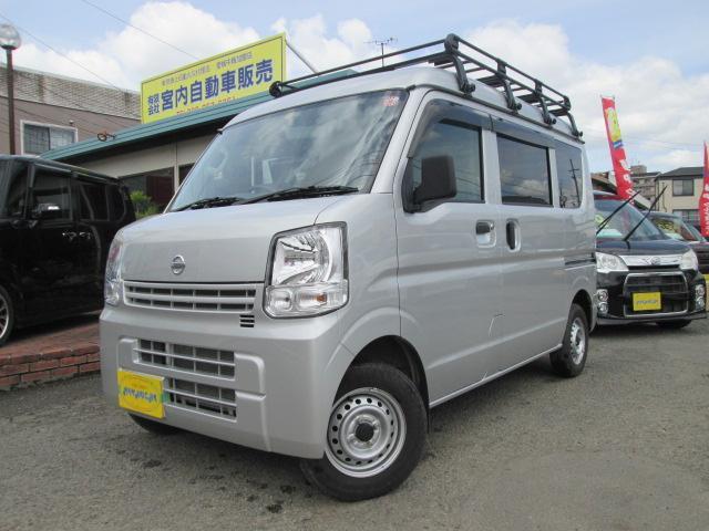 日産 DXハイル-フ4WD ル-フキャリア・ナビTV・ワンオ-ナ-