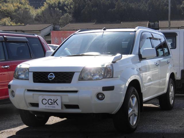 エクストレイル Xt 4WD キセノンライト ETC付き