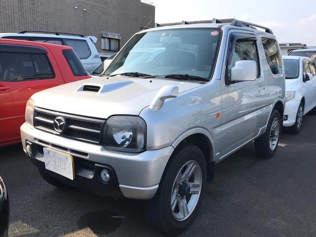 マツダ XC 4WD AT ナビTV AW 背面タイヤ 電格ミラー
