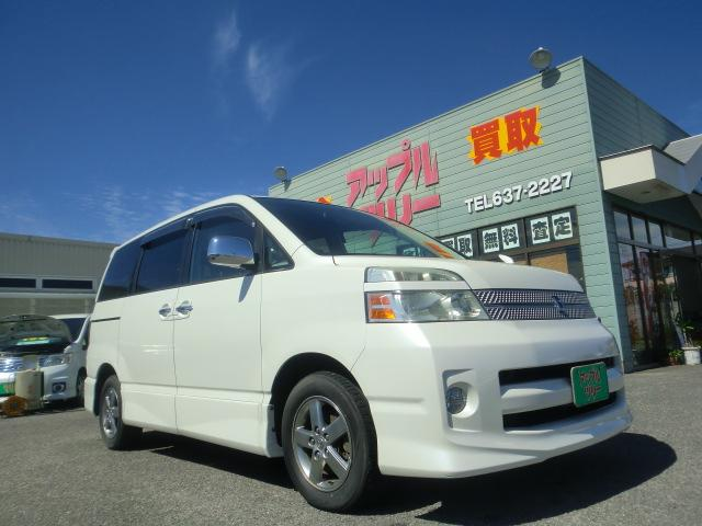 トヨタ Z煌 エアロ 両側電スライドドア 15インチアルミHDDナビ