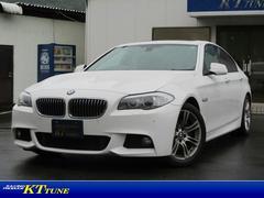 BMW523i MスポーツP タイヤ4本新品 革Pシート クルコン