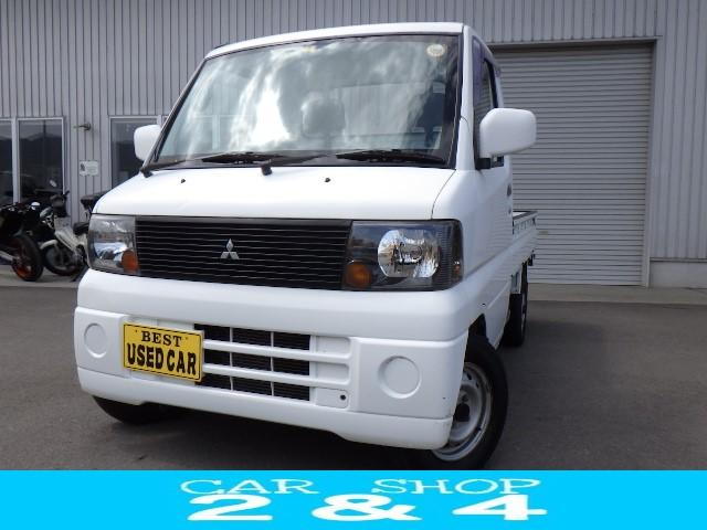 三菱 ミニキャブトラック VX-SE 5速MT 4WD エアコン パワステ