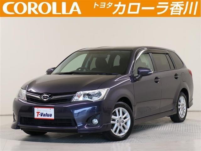 トヨタ カローラフィールダー 1.5G エアロツアラー HDDナビ フルセグ 純正アルミ