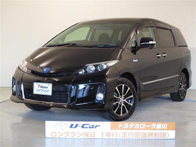 トヨタ アエラス ETC 電動スライドドア スマートキ- HDDナビ