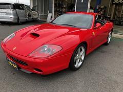 フェラーリ 575M マラネロ F1 革シート HDDナビ ETC HID
