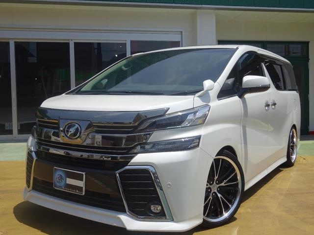 トヨタ 2.5Z Gエディション WARK20インチアルミ 車高調