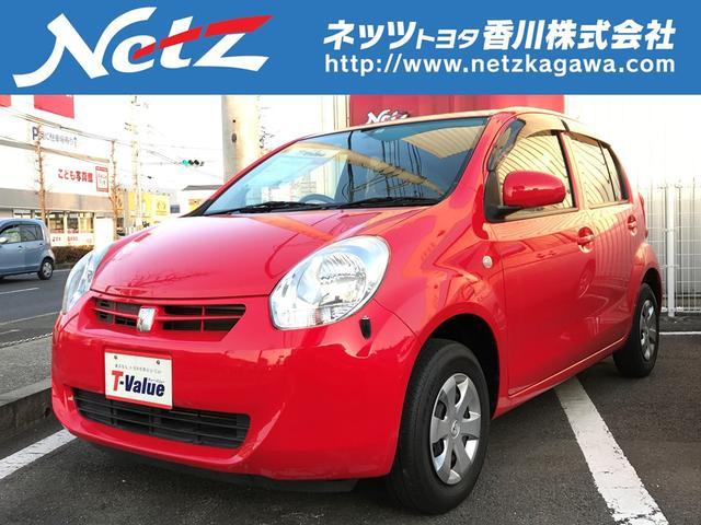 トヨタ パッソ X ユルリ ETC スマートキー CD ベンチシート