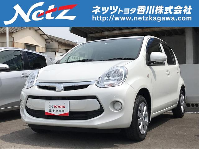 トヨタ パッソ 1.0X Lパッケージ・キリリ ナビTV HID オートAC