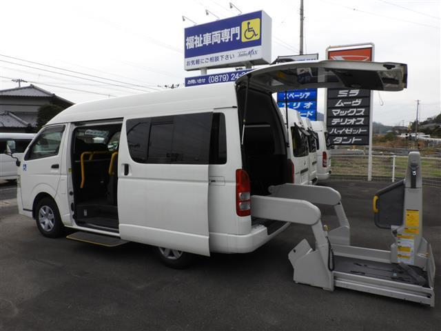 トヨタ 車いす移動車 Bタイプ 福祉車両