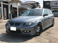 BMW525iツーリング ナビ サンルーフ ETC 黒革シート