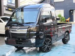 ハイゼットトラックジャンボ 4WD SDナビフルセグTV 社外マフラー