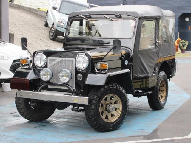 三菱 ジープ 幌付 4WD ディーゼル