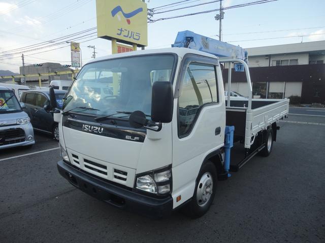 いすゞ 2t高床ワイドタダノ4段2.63tフックイン・ラジコン付