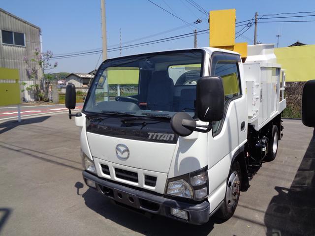 マツダ アイチ製 高所作業車 電工仕様2人乗 8m 4WD