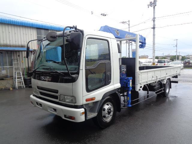 いすゞ  タダノクレーンZR304 4段フックインラジコン付