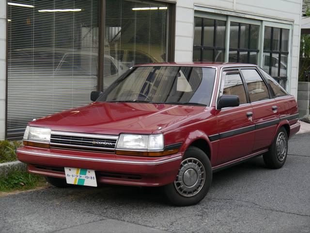 トヨタ 1.8EXサルーン 5MT 屋内保管 禁煙 ガラスコート済