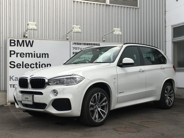BMW xDrive 35d Mスポーツ サンルーフ 本革シート
