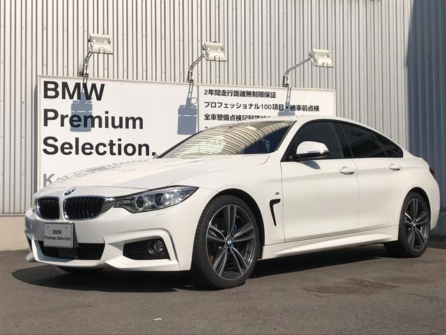 BMW 420iグランクーペ Mスポーツ 赤革シート 19インチAW
