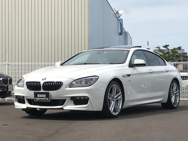 BMW 640iグランクーペ Mスポーツパッケージ サンルーフ レザーシート 純正ナビ TV