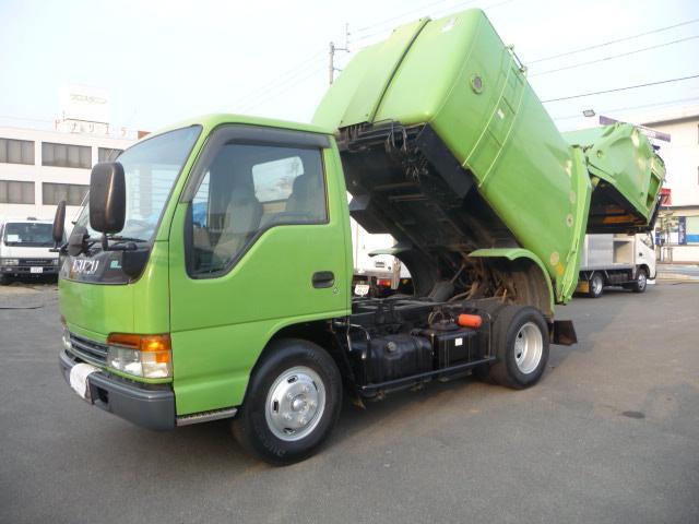いすゞ エルフトラック 2トン巻き込み式パッカー (なし)