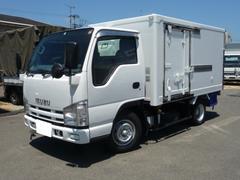 エルフトラックエルフ1.5トン中温冷凍車スタンバイ