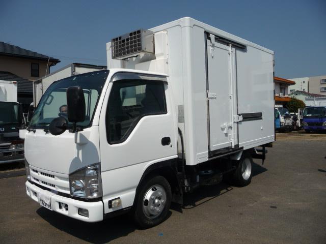 いすゞ エルフトラック 2トン低温冷凍車ステン張り