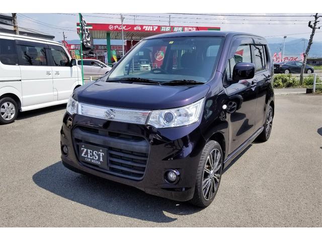 「スズキ」「ワゴンRスティングレー」「コンパクトカー」「愛媛県」の中古車