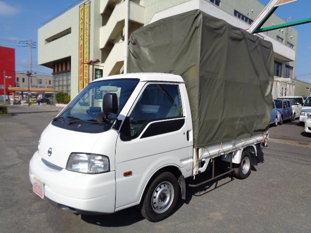 日産 バネットトラック スーパーロー幌リヤWタイヤ PW ETC ポータブルナビTV