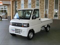 ミニキャブトラックVタイプ エアコン付 パワステ 三方開 最大積載量350kg