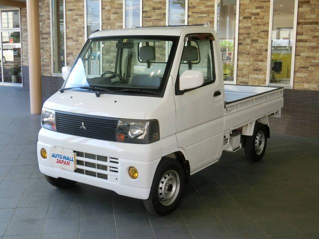 三菱 VX-SE 4WD 5速MT エアコン パワステ 作業灯 ゲートチェーン 鳥居プロテクター AM/FMラジオ