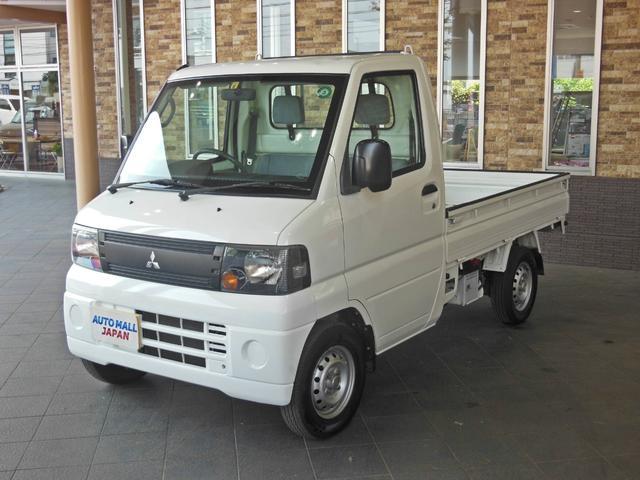 三菱 ミニキャブトラック VX-SE 5速MT/2WD・パワーステアリング・エアコン・最大積載量350kg・三方開