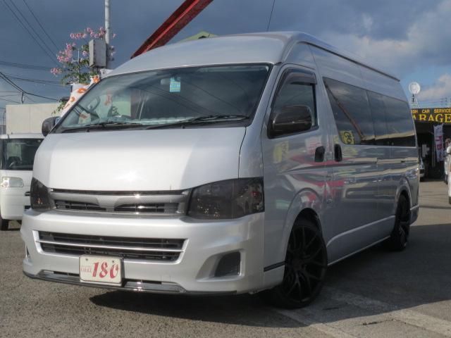 トヨタ スーパーロングGLターボ 軽油 キャンピング8ナンバー