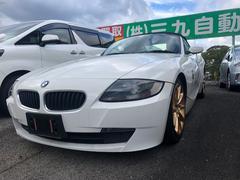 BMW Z4ロードスター2.5i 本革シート 1DINHDDナビ
