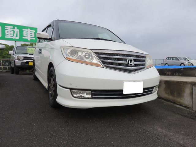 「ホンダ」「エリシオンプレステージ」「ミニバン・ワンボックス」「愛媛県」の中古車