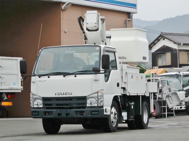 いすゞ 9.9m 高所作業車