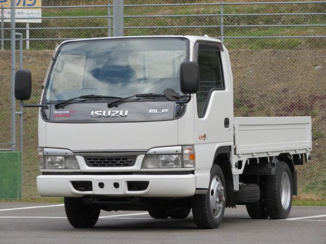 いすゞ 2t 4WD 10尺平ボデー