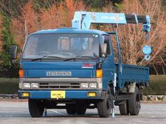 タイタントラック4.15t ワイドロング 3段フックインクレーン