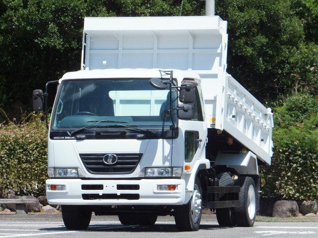 日産ディーゼル 7.5t 増トン 土砂禁ダンプ