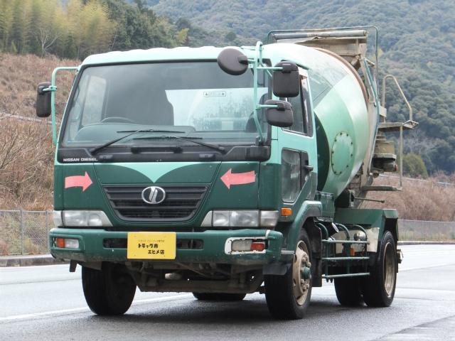 日産ディーゼル 7.88t 増トン コンクリートミキサー