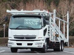 ファイター8.3t 増トン 低床2デフ 5台積キャリアカー