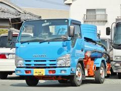 エルフトラック1.8t バキューム車