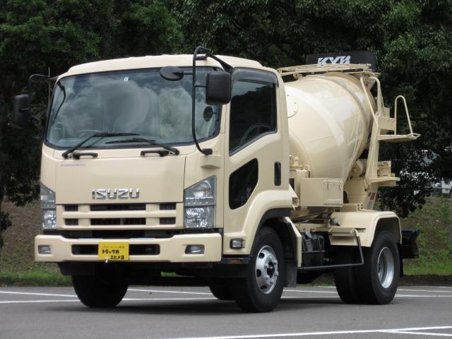 いすゞ 3.75t コンクリートミキサー