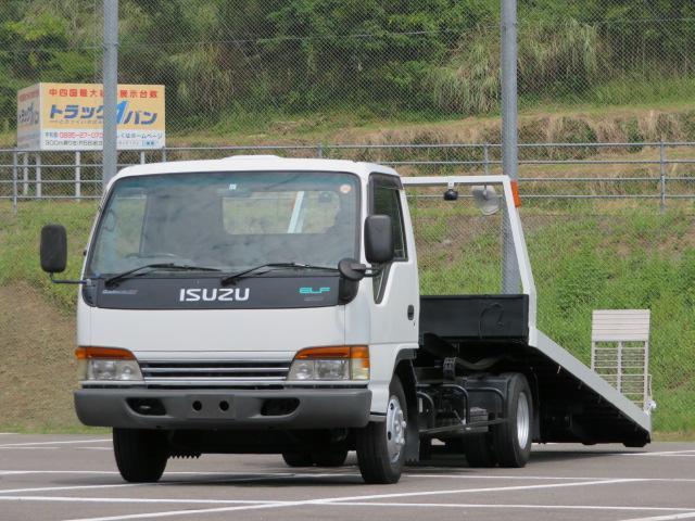 いすゞ 3t 超ロング セルフローダー