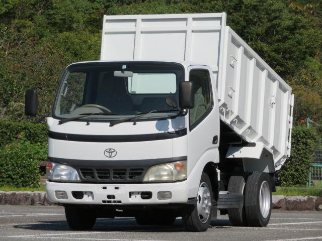 トヨタ 2t 全低床 土砂禁ダンプ