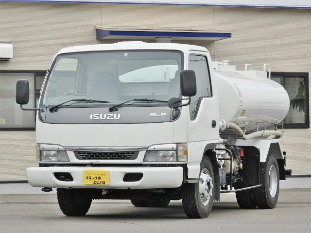 いすゞ 4.2t ワイド 散水車
